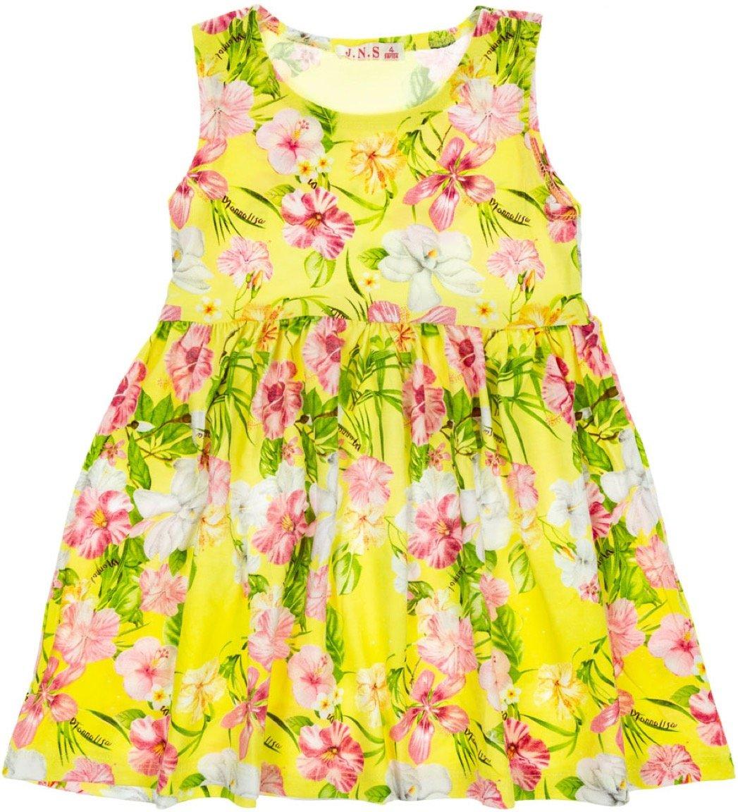 JNS παιδικό φόρεμα «Yellow Magnolia»