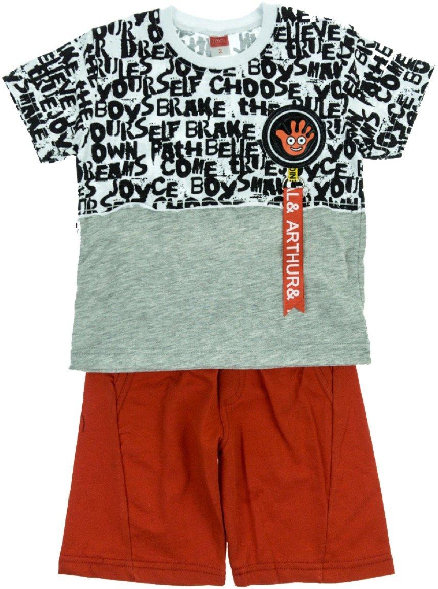 Joyce παιδικό σετ μπλούζα-παντελόνι σορτς «Arthur»