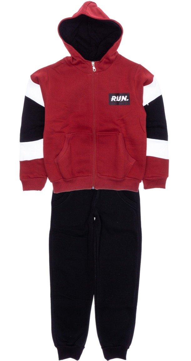 Joyce παιδικό σετ φόρμα ζακέτα-παντελόνι «Run»