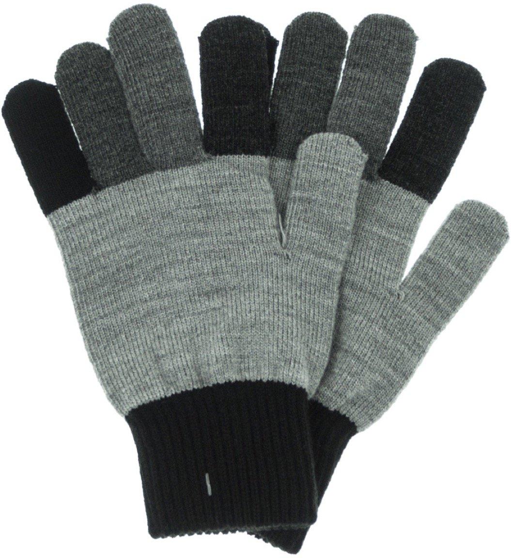 KDM παιδικά γάντια πλεκτά «Grey Simplicity»