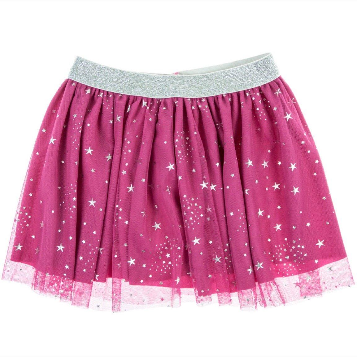 Mini Citlenbik παιδική φούστα τουτου «Fuchsia Stars»