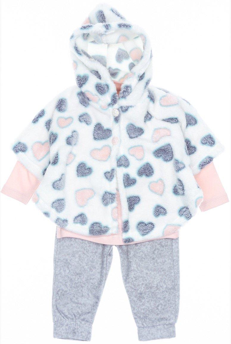 Necix's παιδικό σετ πόντσο-μπλούζα-παντελόνι «Serape»