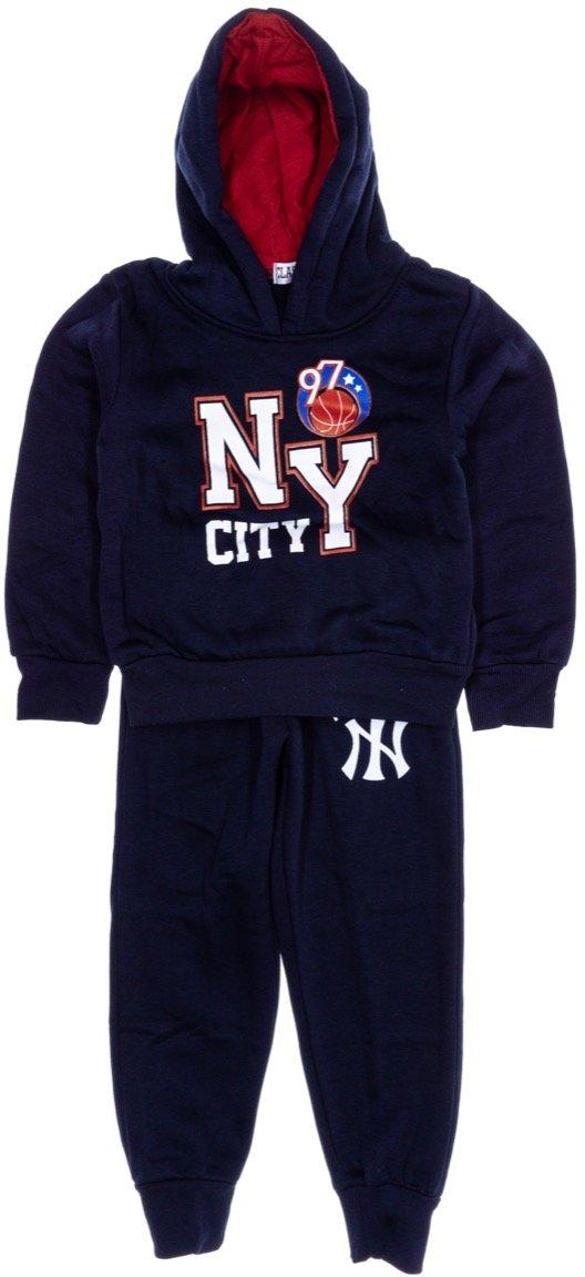 Classic Kids παιδικό σετ φόρμα μπλούζα-παντελόνι «NY City»