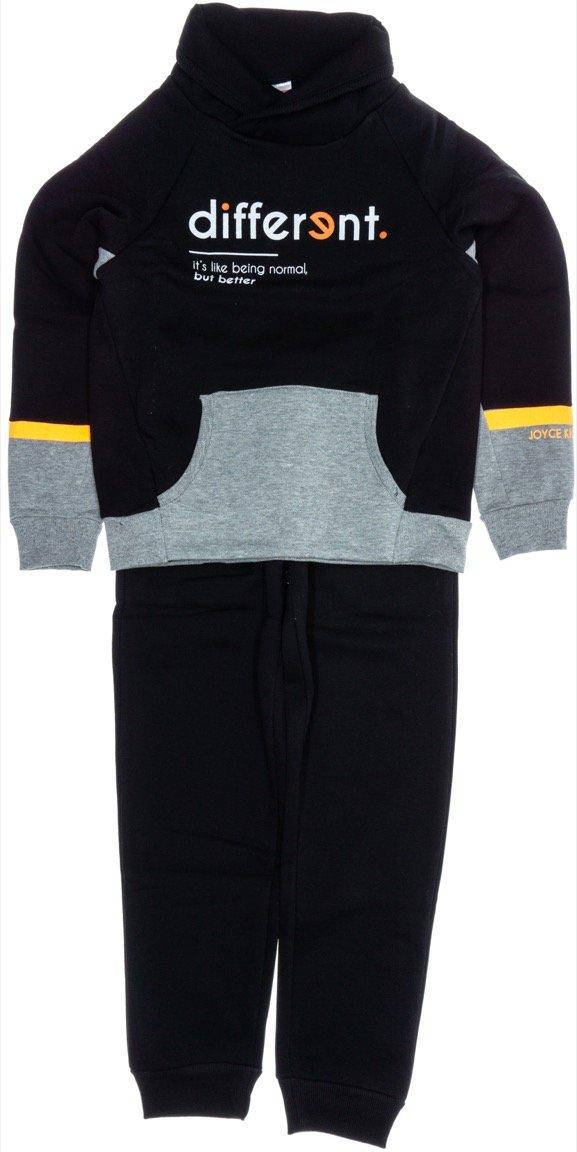 Joyce παιδικό σετ φόρμα μπλούζα-παντελόνι «The Different»