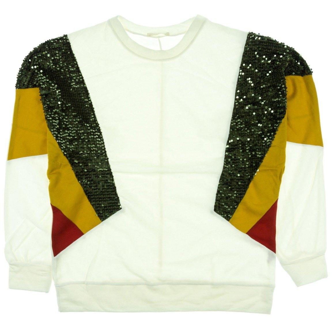 Mint γυναικεία μπλούζα «Sequined White Print»