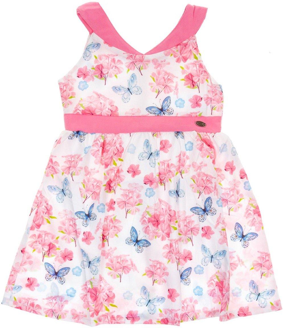 Ativo παιδικό φόρεμα «Pink Garden»