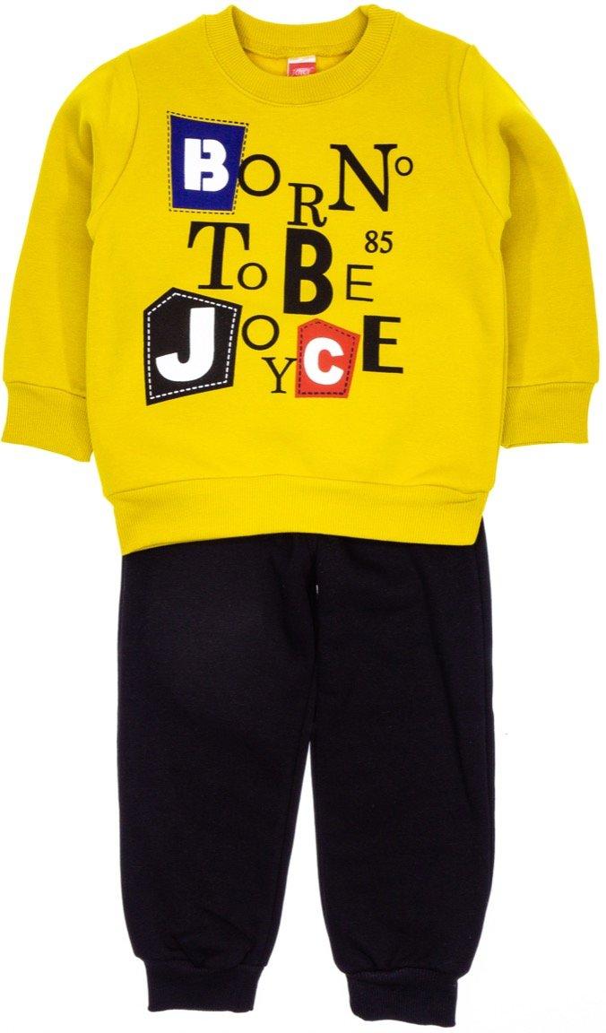 Joyce παιδικό σετ φόρμα μπλούζα-παντελόνι «Born to Be Joyce»