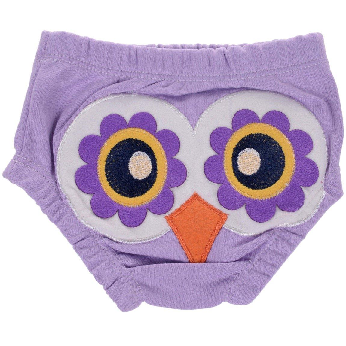 Minice βρεφικό σλιπάκι «Purple Owl»