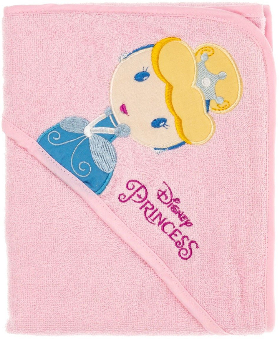 Disney παιδικό μπουρνούζι-κάπα «Princess»