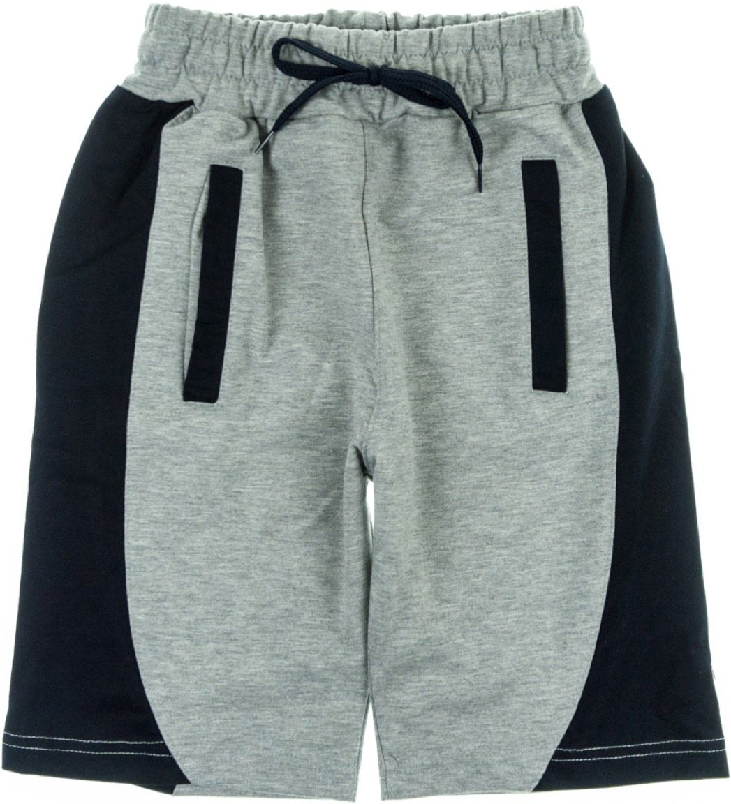 Joi παιδικό παντελόνι βερμούδα «Black Grey Basketball»