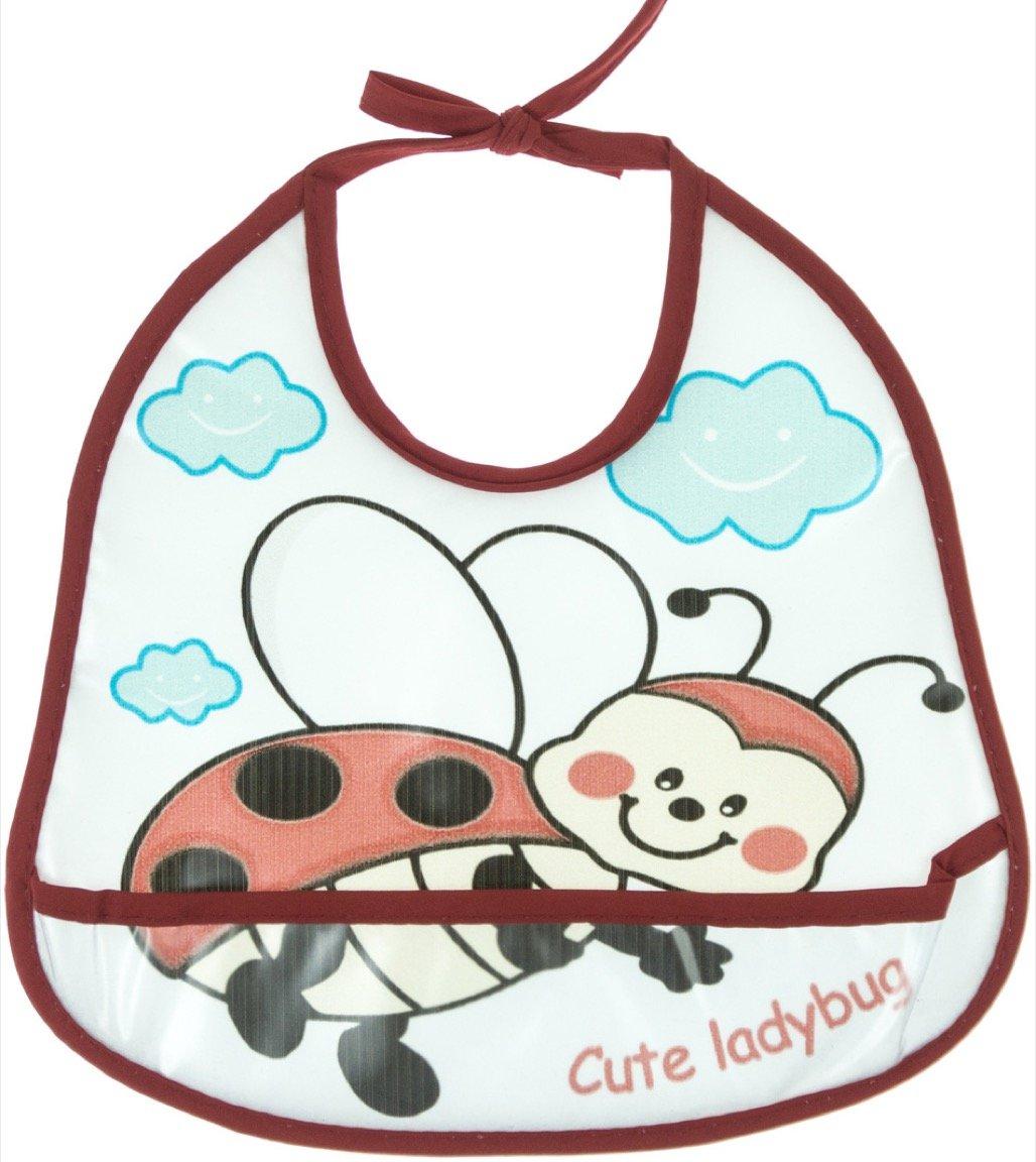 Baby Bibs βρεφική αδιάβροχη σαλιάρα φαγητού «Ladybug»