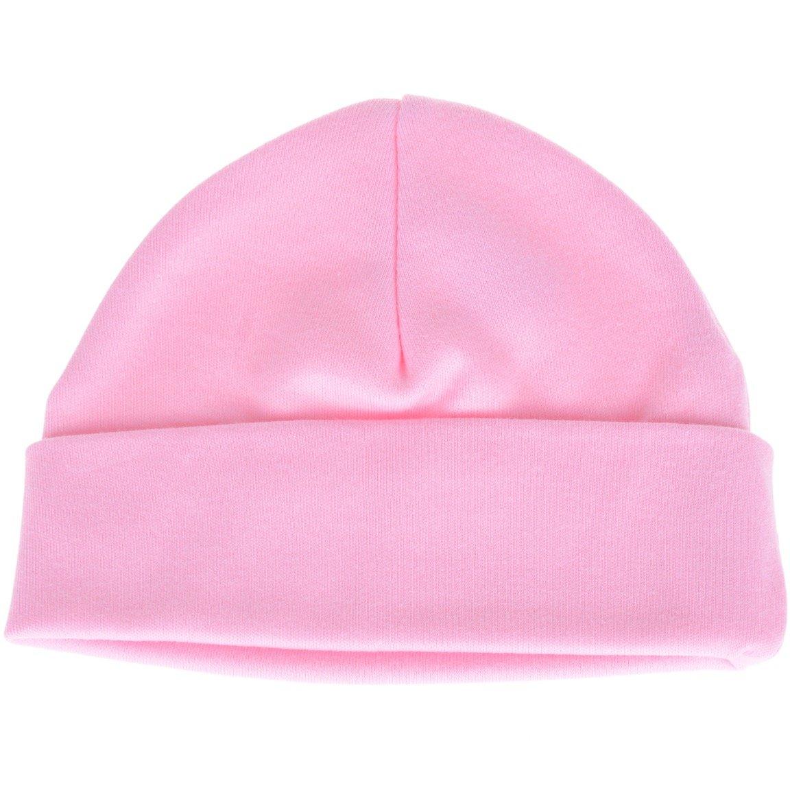 AZ βρεφικό σκουφάκι νεογνού «Pink Cap»