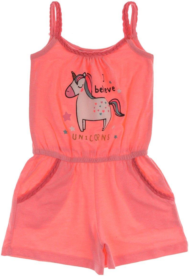 Εβίτα παιδικό ολόσωμο παντελόνι σορτς «Believe in Unicorns»