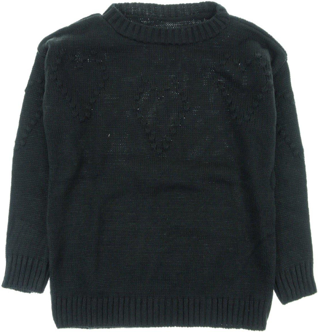 ΑΖ γυναικεία πλεκτή μπλούζα «Black Heart»
