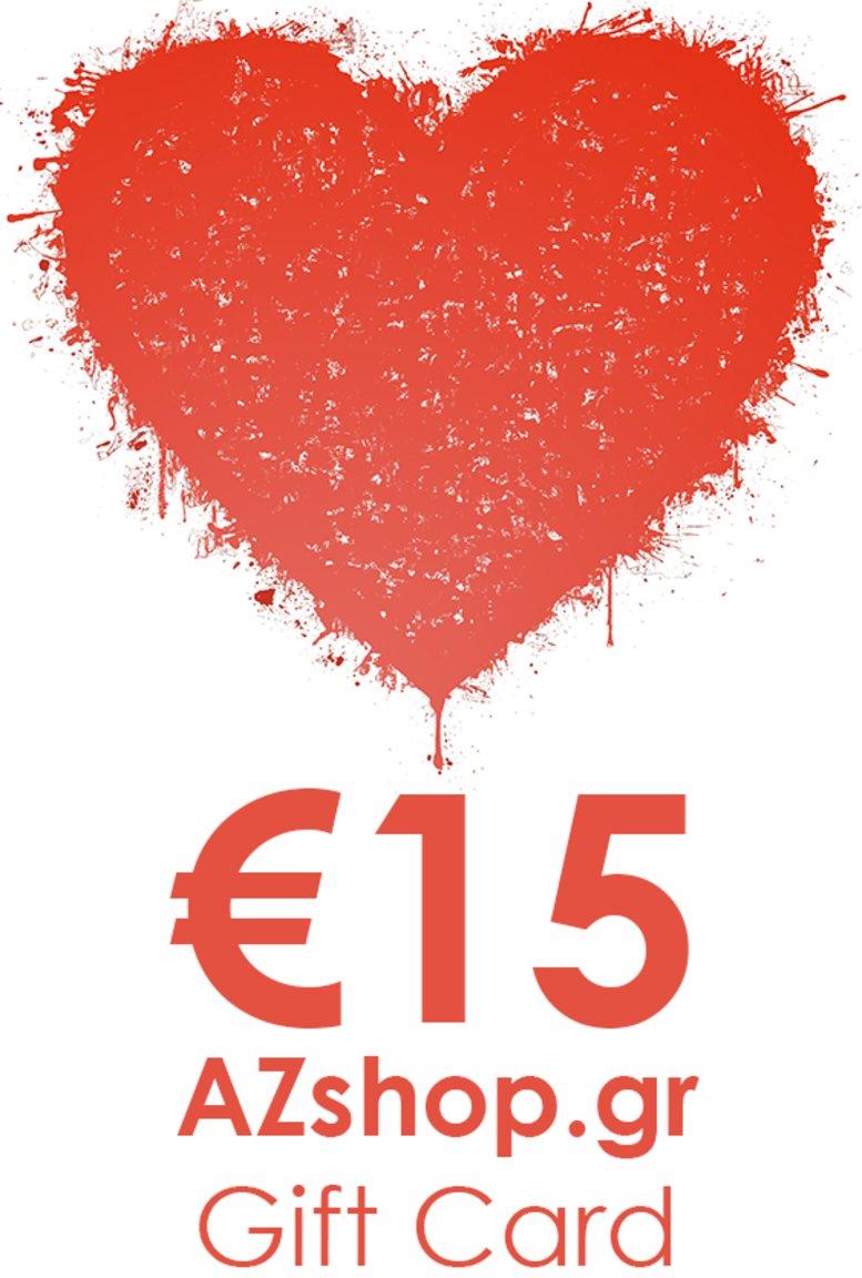 Δωροκάρτα AZshop Gift Card €15