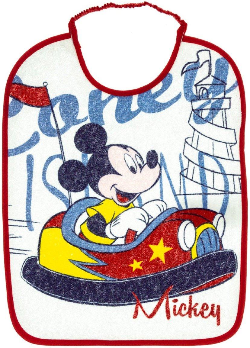 Disney βρεφική σαλιάρα φαγητού «Mickey's Red Car»