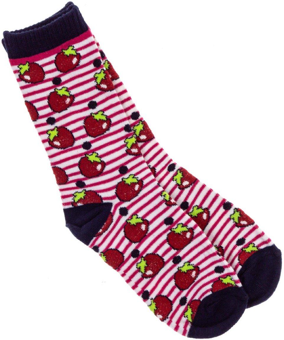 Kitty Cat παιδικές κάλτσες «Strawberries»