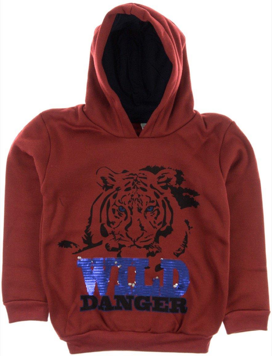 Boinc παιδική φούτερ μπλούζα «Red Wild Danger»