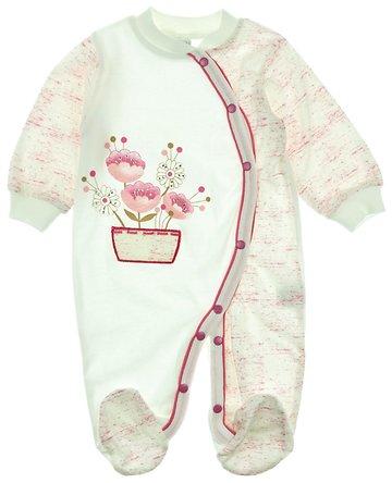 Bestido βρεφικό εποχιακό φορμάκι «Flowers In The Pot» - Παιδικά ρούχα 894e11da249