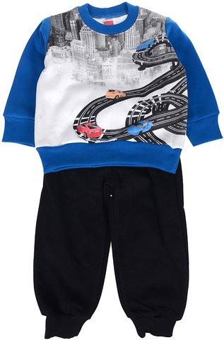 Joyce παιδικό σετ φόρμα μπλούζα-παντελόνι «Blue Roads» - Παιδικά ρούχα ca140392d4d