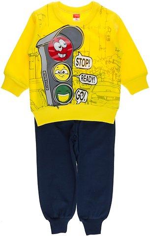 d02d5351a498 Joyce παιδικό εποχιακό σετ φόρμα μπλούζα-παντελόνι