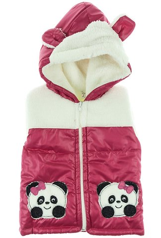 Aydino παιδικό αμάνικο μπουφάν «The Lovely Pandas» - b2b.AZshop.gr 87043779f89