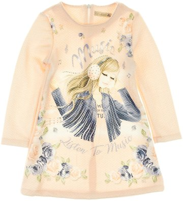 Moonstar παιδικό αμπιγιέ φόρεμα   τσάντα «Listen to Music» - b2b.AZshop.gr 36c28cf6151