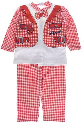 Makkuk βρεφικό εποχιακό σετ ζακέτα-παντελόνι-κάλτσες «Red Racing» - Παιδικά  ρούχα 2d2fbe65efd