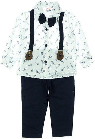 Caliskon παιδικό εποχιακό αμπιγιέ σετ «White Giraffe» - Παιδικά ρούχα 2e6ffc55782