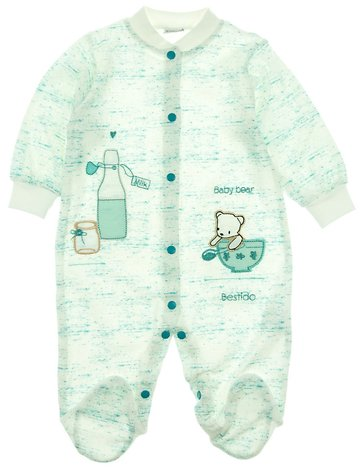 Bestido βρεφικό εποχιακό φορμάκι «Green Milk» - Παιδικά ρούχα ... c57126d4bc7