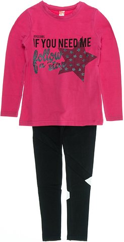 Joyce παιδικό εποχιακό σετ μπλούζα-παντελόνι κολάν «Follow A Star» - Παιδικά  ρούχα 89f0cd01031