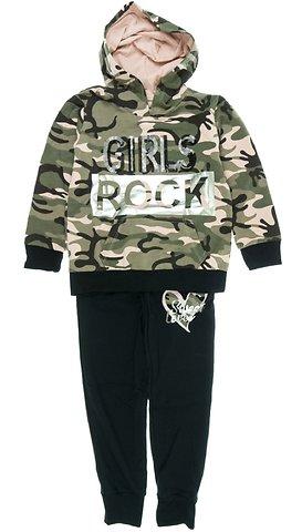 a5e58251d85 Εβίτα παιδικό σετ φόρμα μπλούζα-παντελόνι «Girls Rocks» - Παιδικά ρούχα,  βρεφικά ενδύματα, λευκά είδη για παιδιά AZshop.gr