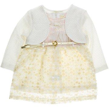 Pink Girl παιδικό αμπιγιέ φόρεμα και μπολερό «Sun» - Παιδικά ρούχα ... 544448e0df9