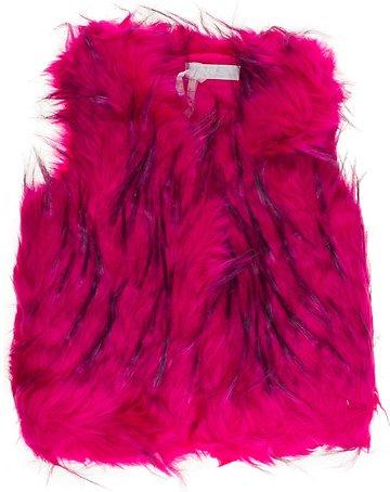JNS παιδικό γούνινο αμάνικο παλτό «Fuchsia Warm» - Παιδικά ρούχα ... 3494960c77b