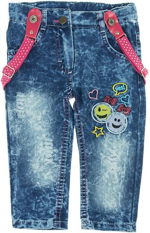422f47e7b93 Cemilino παιδικό εποχιακό παντελόνι τζιν με τιράντες «Smiley» - Παιδικά  ρούχα, βρεφικά ενδύματα, λευκά είδη για παιδιά AZshop.gr