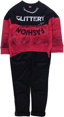 Joyce παιδικό σετ μπλούζα-παντελόνι κολάν «My Glittery» - Παιδικά ρούχα 97d599cf964