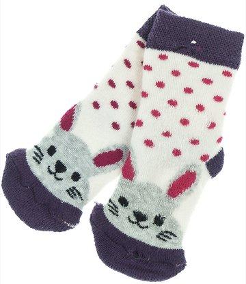 Talha βρεφικές αντιολισθητικές κάλτσες «Purple Bunny» - Παιδικά ρούχα 204802085a1