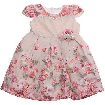 712d692c03b Miss Rose παιδικό αμπιγιέ φόρεμα «Three Roses» - Παιδικά ρούχα ...