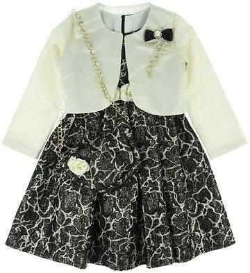 Seker παιδικό αμπιγιέ φόρεμα   ζακέτα μπολερό «Shiny» - b2b.AZshop.gr 342445e1b8b