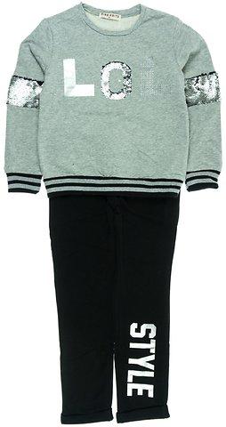 Εβίτα παιδικό σετ φόρμα μπλούζα-παντελόνι «LOL» - Παιδικά ρούχα ... 1e3cefc0180