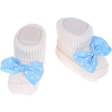 Eda βρεφικές κάλτσες πλεκτές «Light Blue Bow» - Παιδικά ρούχα ... 568eef3033a