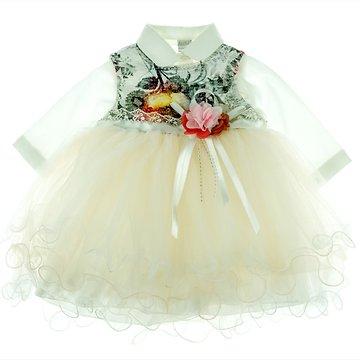 Bestido βρεφικό αμπιγιέ φόρεμα και πουκάμισο «Lush Tulle» - Παιδικά ρούχα b058f266403