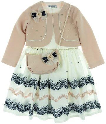 Seker παιδικό αμπιγιέ φόρεμα και ζακέτα μπολερό «Repousse» - Παιδικά ρούχα ae83971d672