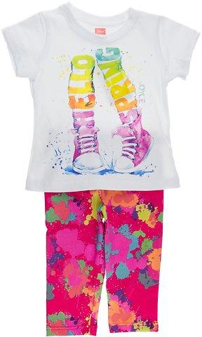 Joyce παιδικό σετ μπλούζα-παντελόνι κολάν