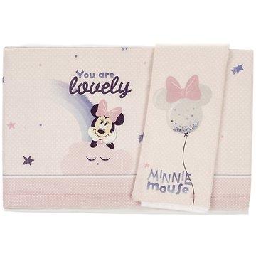 bb0c353edce Disney σεντόνια σετ τριών τεμαχίων για παιδικό κρεβάτι (κούνια) «Minnie  Mouse»