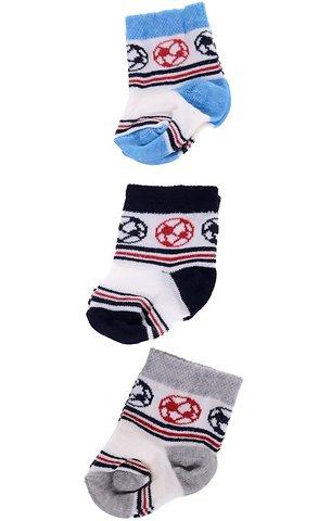 Mercan σετ βρεφικές κάλτσες (τρία τεμάχια) «Basketball Kids» - Παιδικά ρούχα d20e57033bb