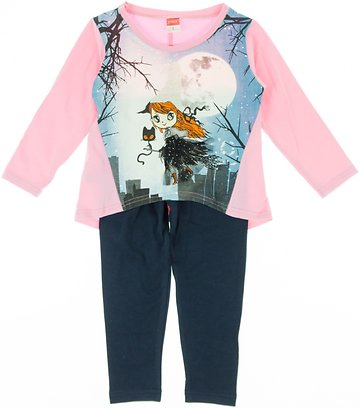 Joyce παιδικό εποχιακό σετ μπλούζα-παντελόνι κολάν «Pink Witch» - Παιδικά  ρούχα 22e99216e44