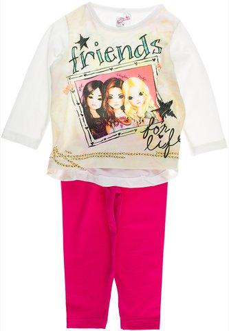 Cotton Planet παιδικό εποχιακό σετ μπλούζα-παντελόνι κολάν «Friends» - Παιδικά  ρούχα 73db1f5ca31