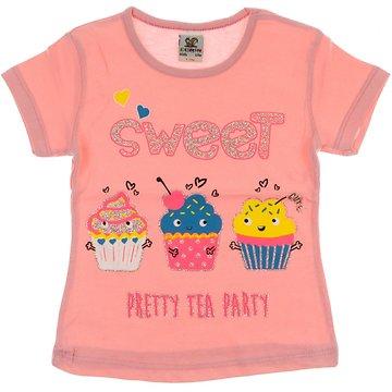 89e8f0cbffeb Ecrin παιδική μπλούζα «Pretty Tea Party» - b2b.AZshop.gr