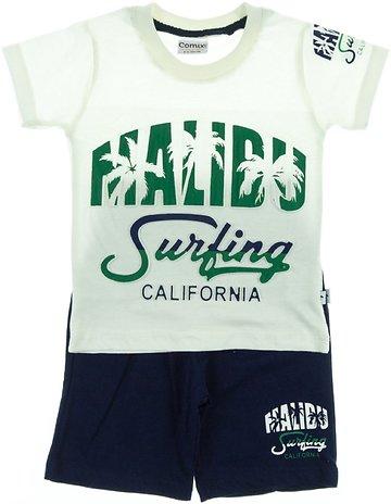 b111da9ea9c Comix Life παιδικό σετ μπλούζα-παντελόνι βερμούδα «In Malibu» - Παιδικά  ρούχα, βρεφικά ενδύματα, λευκά είδη για παιδιά AZshop.gr